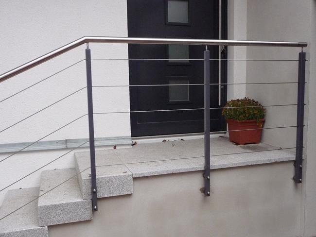 edelstahl seilsysteme f r terrassen und gel nder in berlin von metallbau habermann in berlin. Black Bedroom Furniture Sets. Home Design Ideas